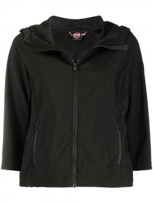 Укороченная куртка с нашивкой-логотипом Colmar. Цвет: черный