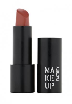 Помада Make Up Factory Устойчивая полуматовая для губ Magnetic Lips semi-mat&long-lasting тон 235 палисандр