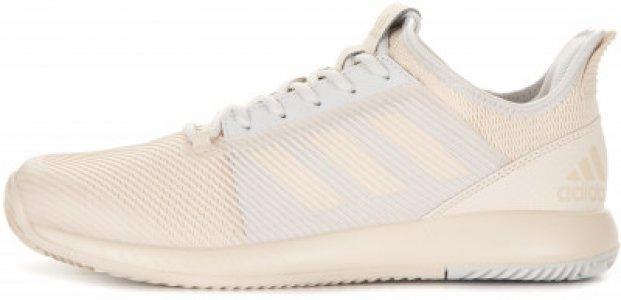 Кроссовки женские adidas Adizero Defiant, размер 42. Цвет: бежевый