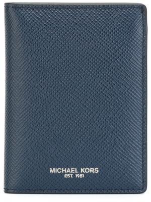 Кошельки и визитницы Michael Kors. Цвет: синий