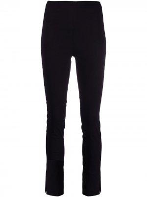Спортивные брюки с эластичным поясом Alysi. Цвет: черный