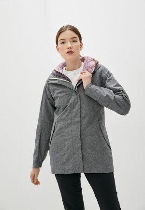 Куртка Merrell. Цвет: серый