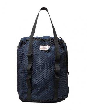 Рюкзаки и сумки на пояс BATTENWEAR. Цвет: темно-синий