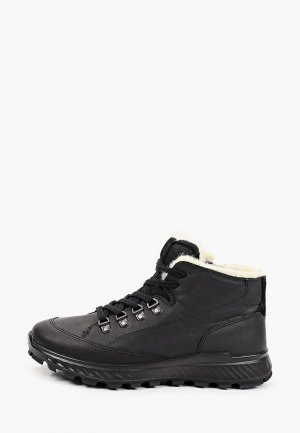 Ботинки Ecco EXOSTRIKE KIDS. Цвет: черный