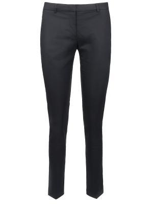 Зауженные брюки Moncler. Цвет: черный