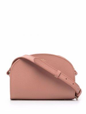 Сумка на плечо Demi-Lune A.P.C.. Цвет: розовый
