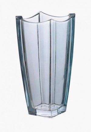 Ваза Decogallery 30х13 см. Цвет: голубой