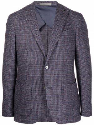 Однобортный пиджак Giacca Corneliani. Цвет: синий