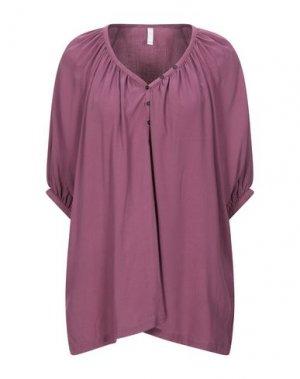 Блузка NOLITA. Цвет: розовато-лиловый