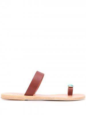 Декорированные сандалии Ancient Greek Sandals. Цвет: коричневый