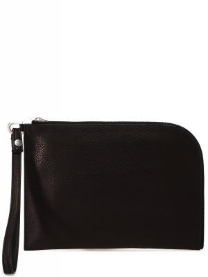 Бумажник RICK OWENS. Цвет: черный