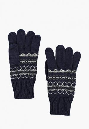Перчатки Marks & Spencer. Цвет: синий