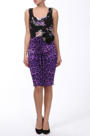 Платье DOLCE & GABBANA. Цвет: фиолетовый