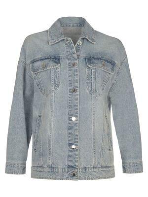 Базовая джинсовая куртка oversize LOVE REPUBLIC