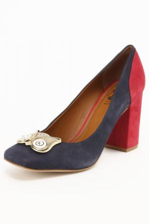 Туфли Loucos & Santos. Цвет: красный