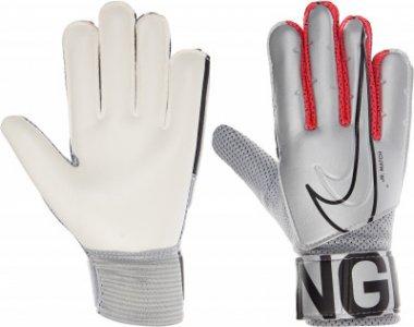 NK GK MATCH JR-FA19, размер 4 Nike. Цвет: серебристый