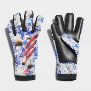 Вратарские перчатки X Captain Tsubasa Performance adidas. Цвет: красный