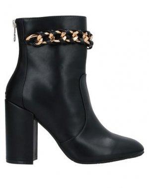 Полусапоги и высокие ботинки GATTINONI. Цвет: черный
