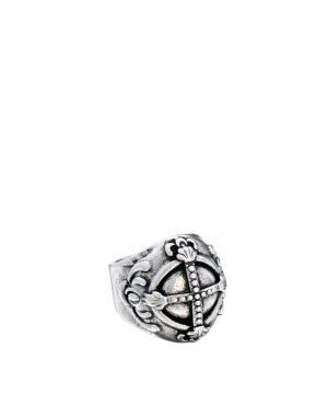 Кольцо с орбитой Wear Boom Bap. Цвет: серебряный