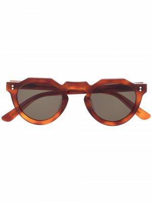 Солнцезащитные очки Pica Lesca. Цвет: нейтральные цвета
