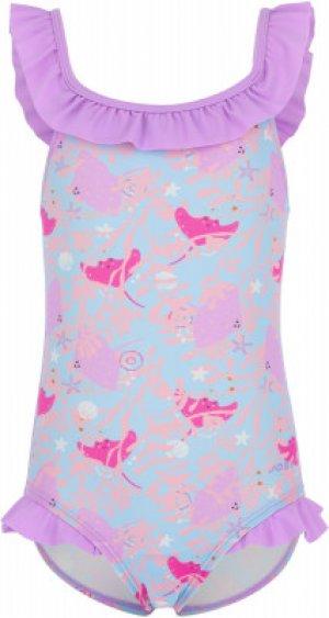 Купальник для девочек , размер 104 Joss. Цвет: голубой