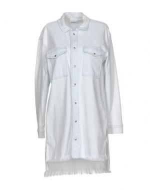 Джинсовая рубашка HUDSON. Цвет: синий