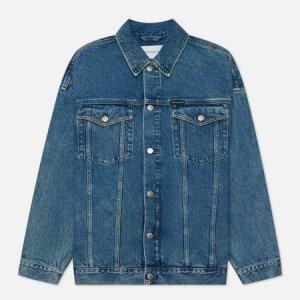 Мужская джинсовая куртка Extreme Oversized Calvin Klein Jeans. Цвет: синий
