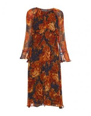 Платье до колена ANTIK BATIK. Цвет: верблюжий