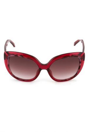 Очки солнцезащитные Escada. Цвет: красный