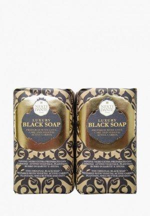 Набор для ухода за телом Nesti Dante Мыло Luxury Black Soap / Роскошное Чёрное, 2*250г. Цвет: разноцветный