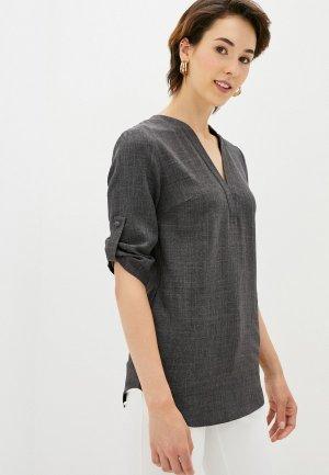 Блуза Maurini. Цвет: серый