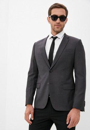 Пиджак De Fursac. Цвет: серый