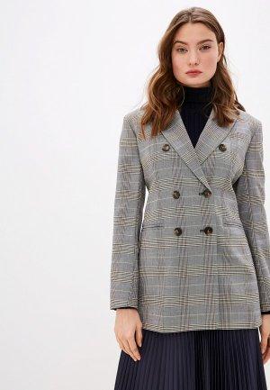 Пиджак Sportmax Code. Цвет: серый