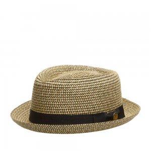 Шляпа хомбург GOORIN BROTHERS. Цвет: бежевый