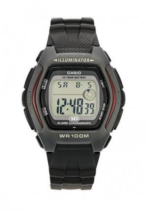 Часы Casio Collection HDD-600-1A. Цвет: черный