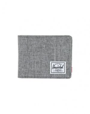 Бумажник HERSCHEL SUPPLY CO.. Цвет: серый