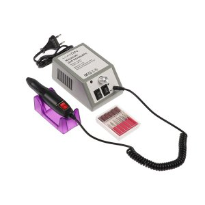 Аппарат для маникюра luazon lmh-02, 6 насадок, до 20000 об/мин, 12 вт, серый Home