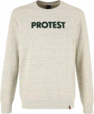 Свитшот мужской , размер 48 Protest. Цвет: бежевый