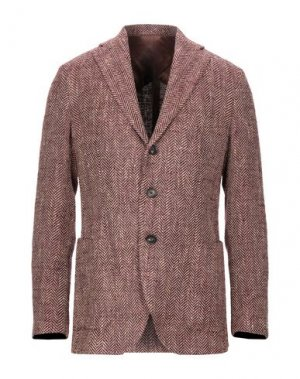 Пиджак DOPPIAA. Цвет: баклажанный