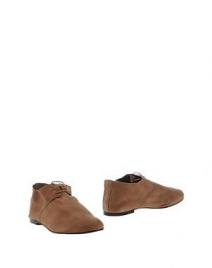 Обувь на шнурках FRENCH SOLE. Цвет: хаки
