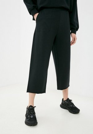 Капри Nike W NY OFF MAT FLEECE CROP PANT. Цвет: черный