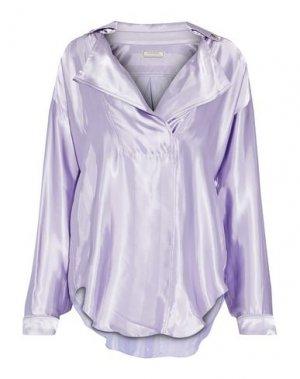 Блузка NINA RICCI. Цвет: сиреневый