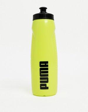 Желтая бутылка для воды PUMA Training-Желтый