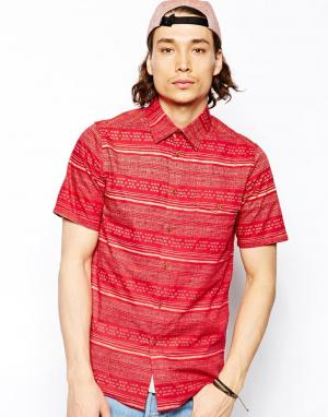 Рубашка Fielder Altamont. Цвет: красный