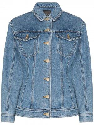 Джинсовая куртка Rainer GOLDSIGN. Цвет: синий