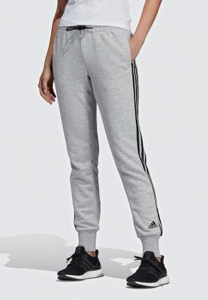 Брюки спортивные adidas MUST HAVES 3-STRIPES. Цвет: серый