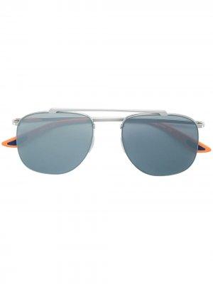 Солнцезащитные очки квадратной формы Christian Roth. Цвет: золотистый