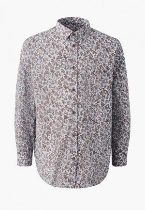 Рубашка Galion. Цвет: коричневый