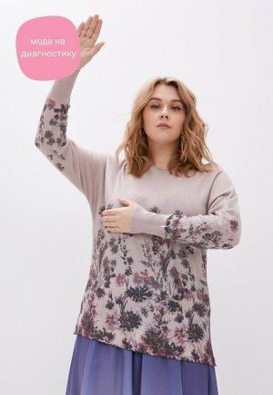 Джемпер Elena Miro. Цвет: розовый