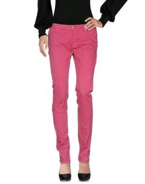 Повседневные брюки BETTY BLUE. Цвет: пурпурный